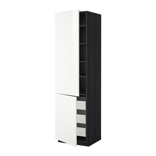Metod maximera aa 2p 3c efecto madera negro ringhult for Amortiguador armario cocina
