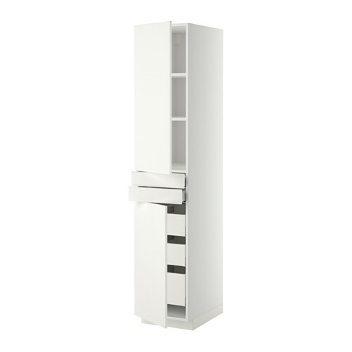 Metod maximera aa 2p 2f 5c blanco h ggeby blanco for Amortiguador armario cocina