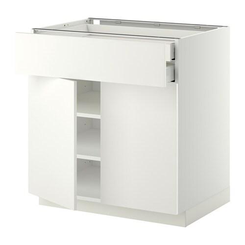 Metod maximera ab 2p 2c blanco h ggeby blanco ikea for Amortiguador armario cocina