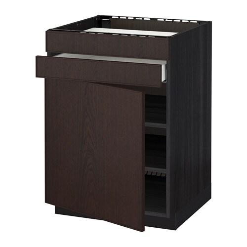Metod maximera ab placa p 2f 1c efecto madera negro for Amortiguador armario cocina