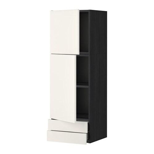 Metod maximera ap 2p 2c efecto madera negro veddinge for Amortiguador armario cocina