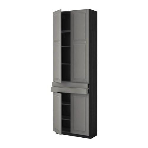 Metod maximera armario alto 4 puertas y 2 cajones for Armario 2 puertas ikea