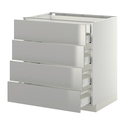 Metod maximera armario bajo cocina 5 cajones blanco - Ikea cajones cocina ...