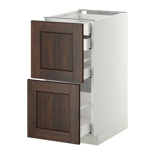 Metod maximera armario bajo cocina 4 cajones blanco - Ikea cajones cocina ...