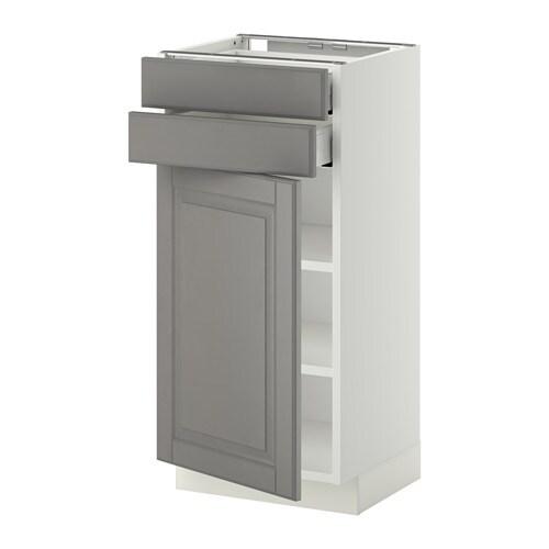 Metod maximera armario bajo cocina 2 cajones blanco - Ikea armarios cocina ...