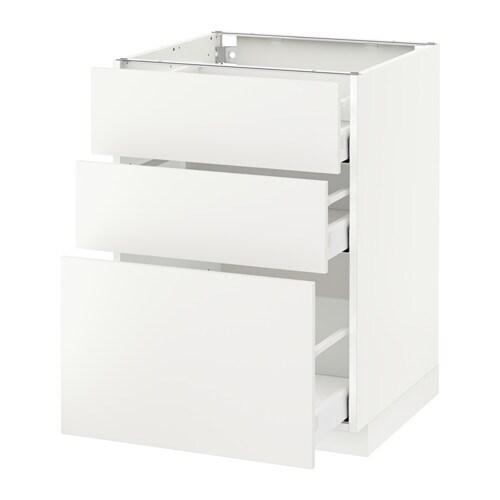 Metod maximera armario bajo cocina con 3 cajones - Cocina armario ikea ...