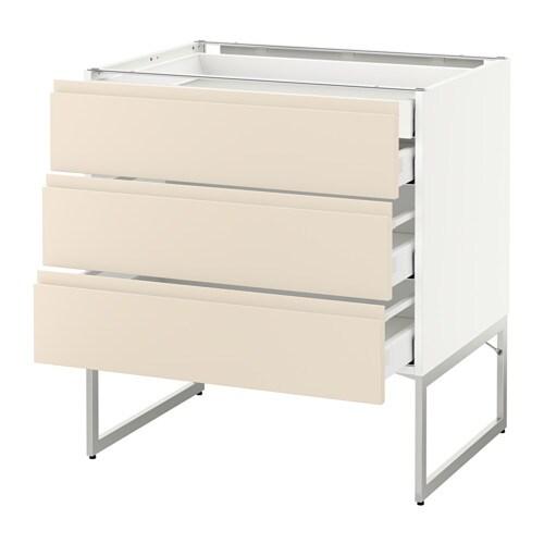 Metod maximera armario bajo cocina con 4 cajones - Ikea cajones cocina ...
