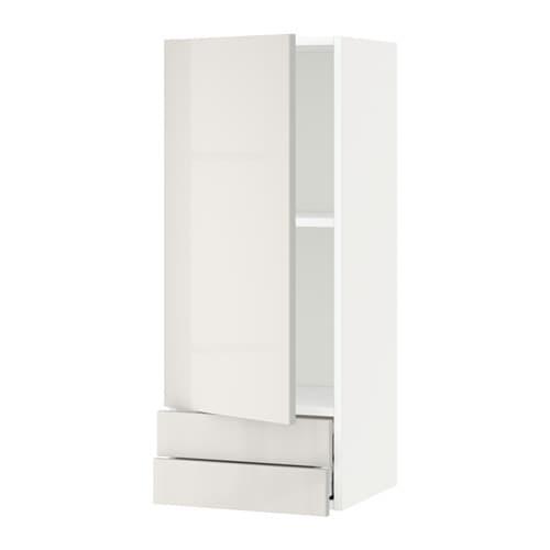 Metod maximera armario de pared puerta y cajones for Puertas muebles de cocina ikea