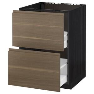 Color de la estructura: Efecto madera negro.