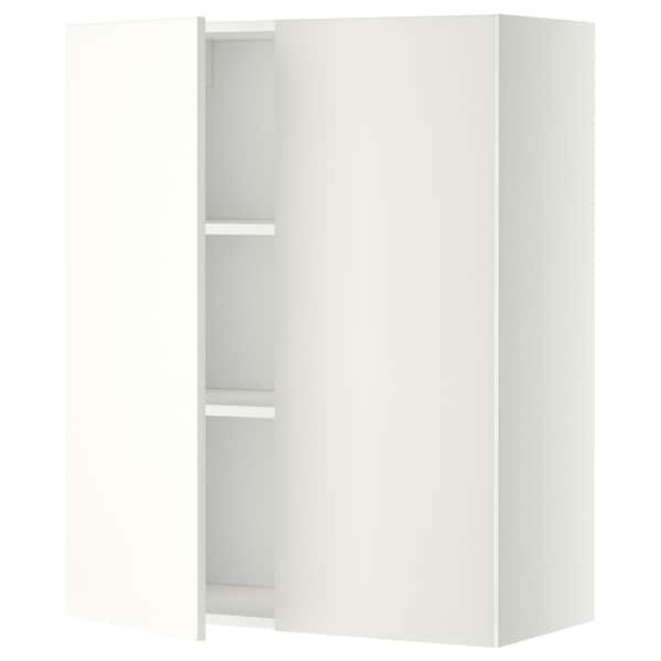 METOD aprd+bld/2pt blanco/Häggeby blanco 80.0 cm 38.6 cm 100.0 cm
