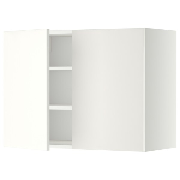 METOD aprd+bld/2pt blanco/Häggeby blanco 80.0 cm 38.6 cm 60.0 cm