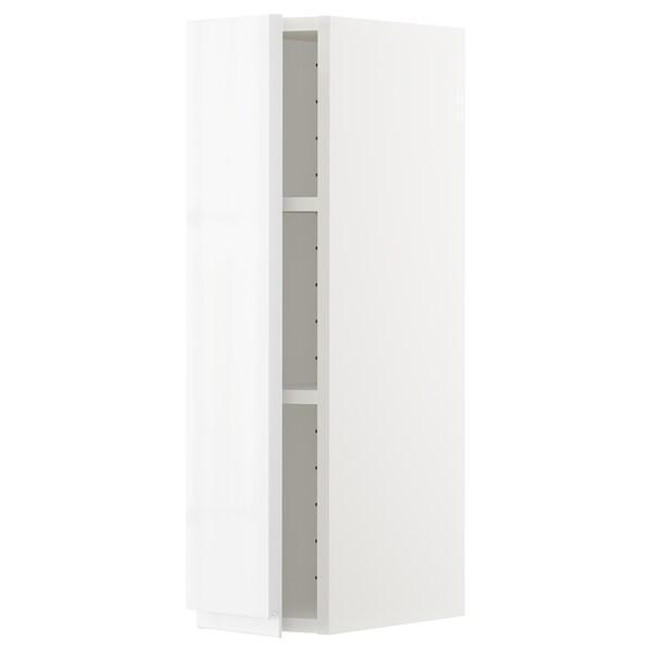 METOD aprd+bld blanco/Voxtorp alto brillo/blanco 20.0 cm 39.1 cm 37.0 cm 80.0 cm