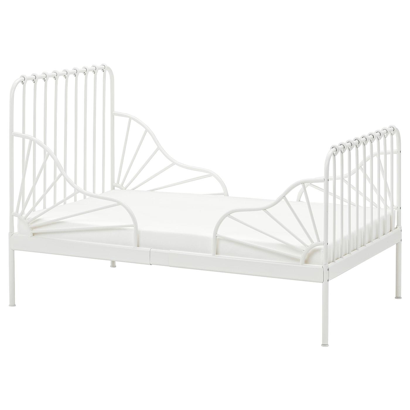 MINNEN Cama extensible blanco 80x200 cm