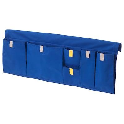 MÖJLIGHET Almacenaje bolsillos cama, azul, 75x27 cm