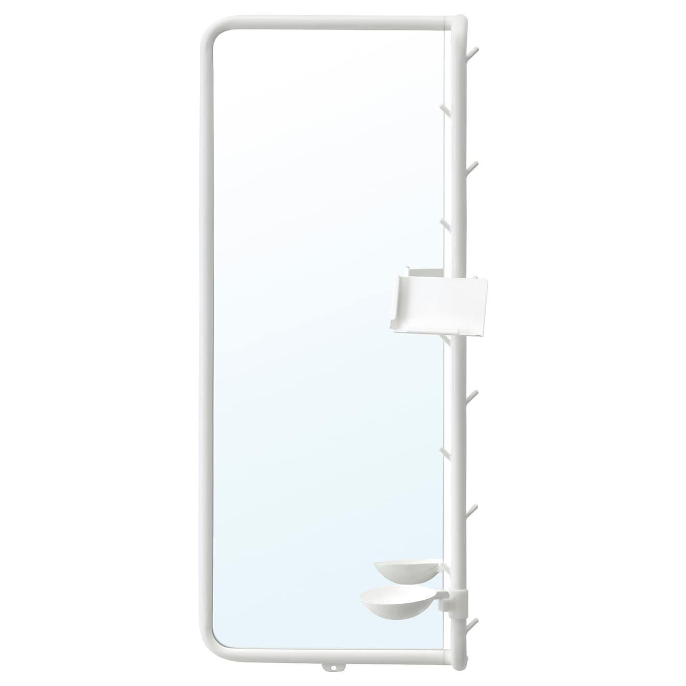 MÖJLIGHET Espejo blanco 34x81 cm