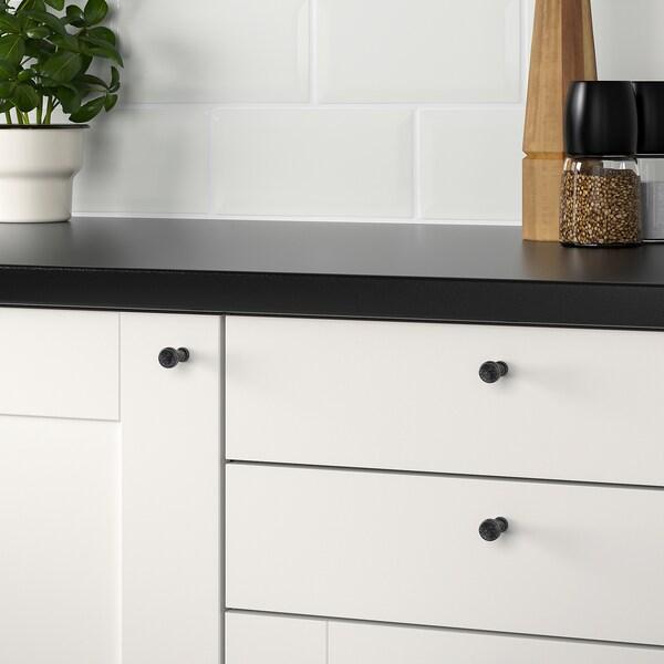 MÖLLARP Pomo, negro, 14 mm