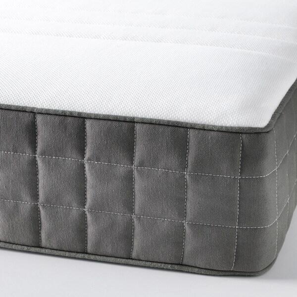 MORGEDAL Colchón espuma, firme/gris oscuro, 160x200 cm