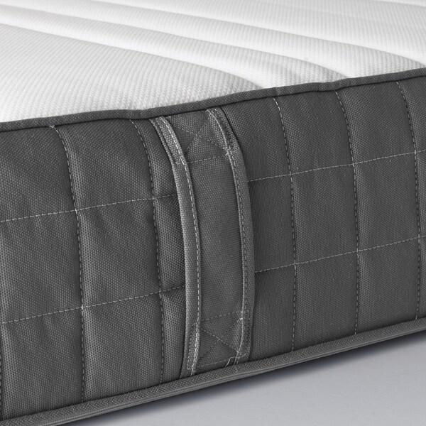 MORGEDAL colchón espuma firme/gris oscuro 200 cm 140 cm 18 cm