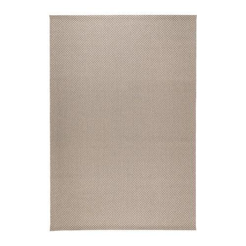 MORUM Alfombra, lisa - int/ext beige, 160x230 cm - IKEA