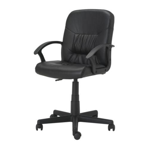 MOSES Silla giratoria negro Ancho: 59 cm fondo: 58 cm altura mínima: 87 cm altura máxima: 98 cm ancho del asiento: 47 cm profundidad del asiento: 38 cm altura mínima del asiento: 42 cm altura máxima del asiento: 53 cm