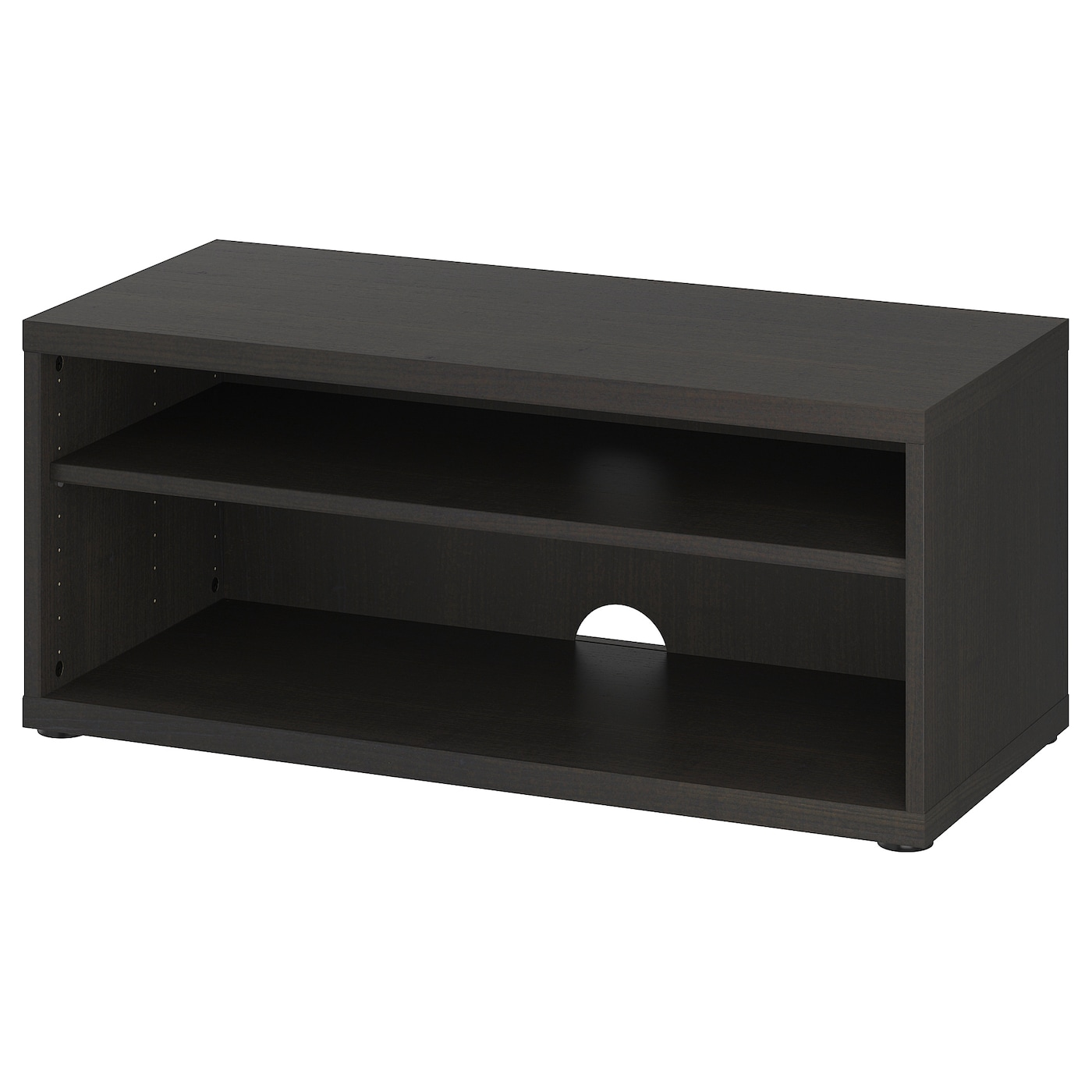 Mosjo Mueble Tv Negro Marron 90 X 40 X 38 Cm Ikea