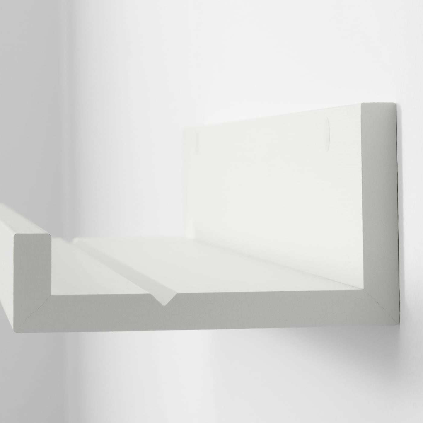 MOSSLANDA Estante para cuadros blanco 115 cm