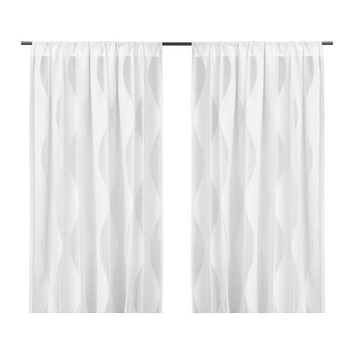 Murruta cortinas red par ikea - Cortinas dormitorio ikea ...