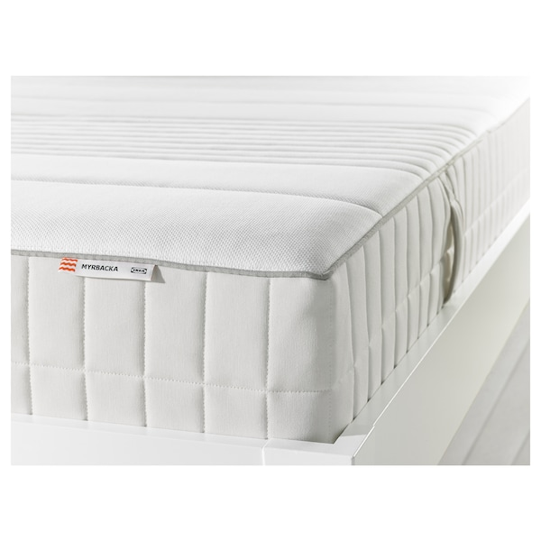 MYRBACKA Colchón de látex, Firmeza media/blanco, 160x200 cm