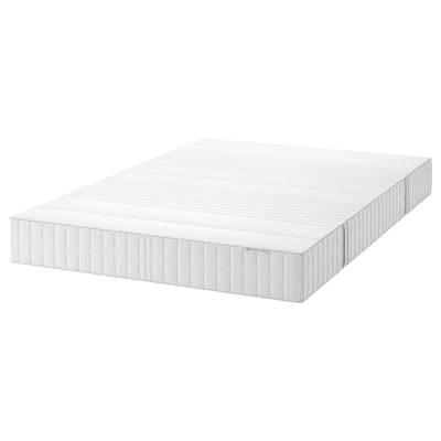 MYRBACKA Colchón viscoelástico, firme/blanco, 135x190 cm