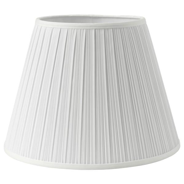 MYRHULT / KRYSSMAST Lámpara de mesa, blanco/chapado en latón
