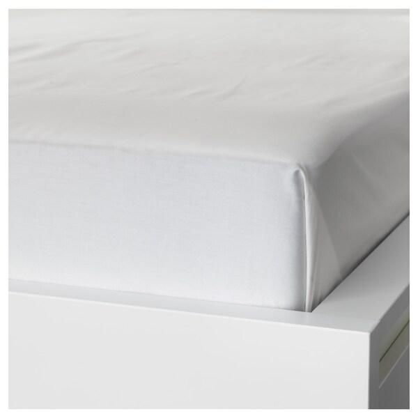 NATTJASMIN Sábana, blanco, 240x260 cm