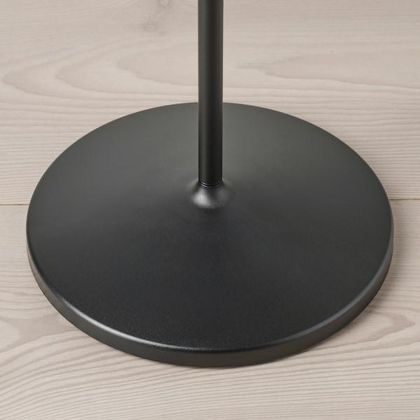 NÄVLINGE Lámpara de pie/lectura, negro