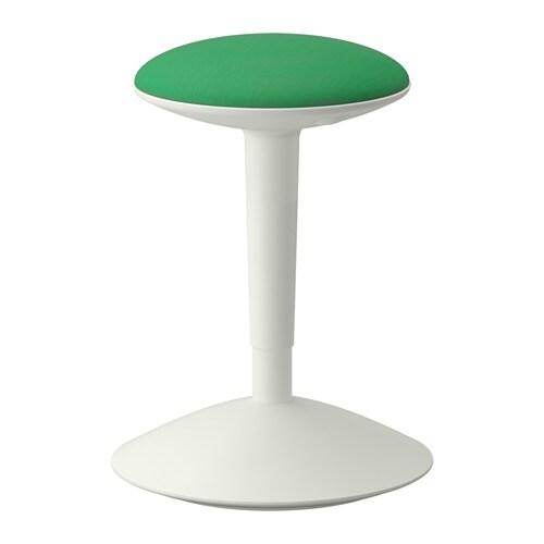NILSERIK  - tamboret, blanc/Vissle verd