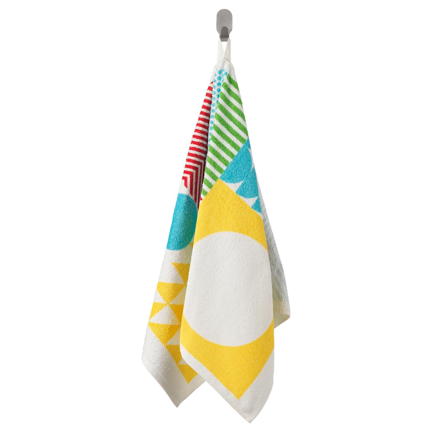 Nimmern toalla de mano multicolor 50 x 100 cm ikea - Toallas de bano ikea ...