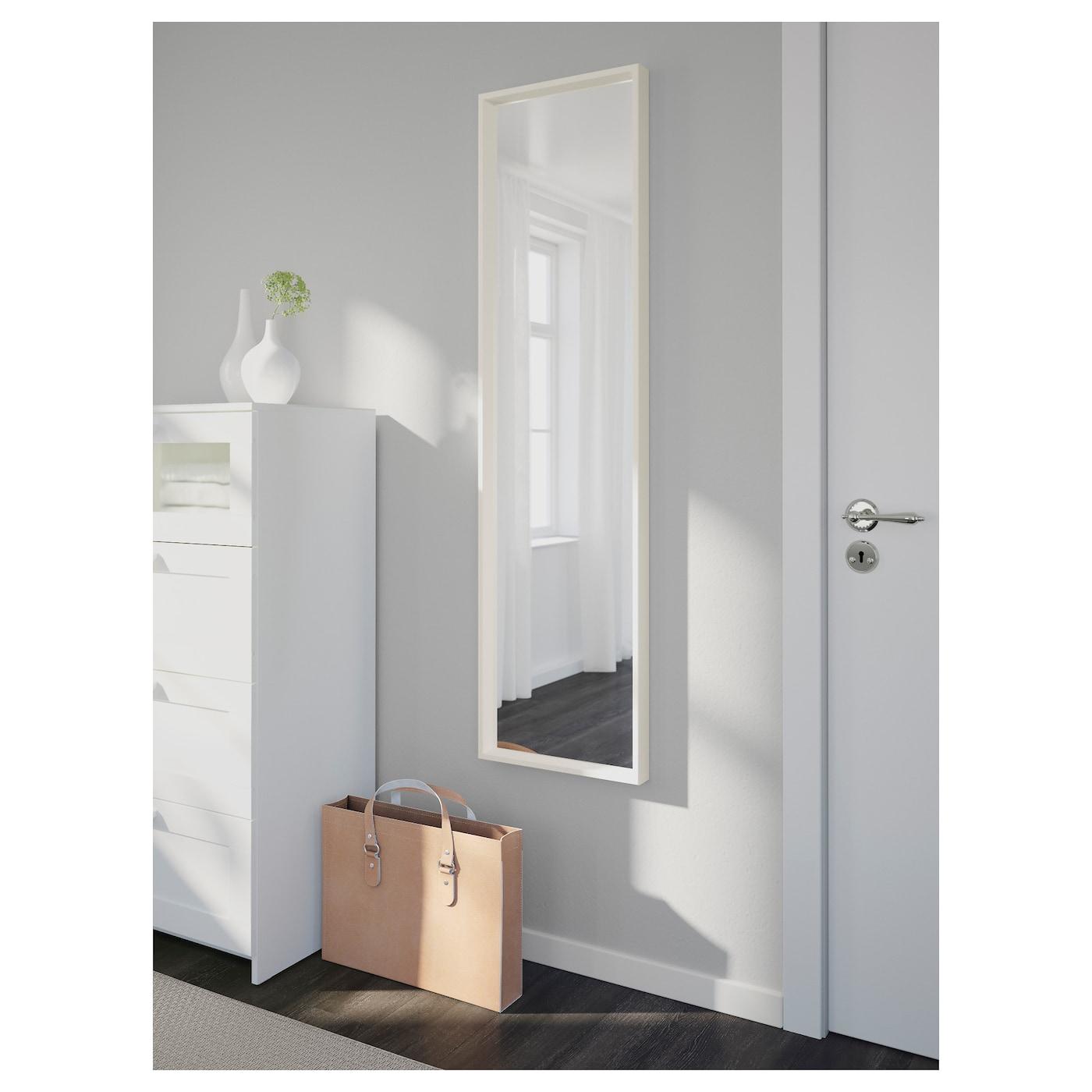 Nissedal espejo blanco 40 x 150 cm ikea - Espejo blanco ikea ...
