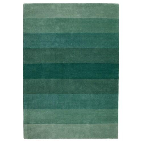 NÖDEBO alfombra, pelo corto a mano/verde 240 cm 170 cm 4.08 m² 3010 g/m² 2400 g/m² 7 mm