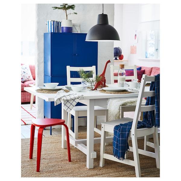 Mesa y 6 sillas NORDVIKEN / NORDVIKEN blanco, blanco