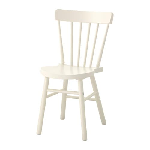 Silla, blanco IKEA