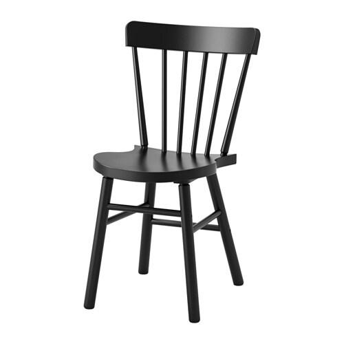 NORRARYD  - cadira, negre