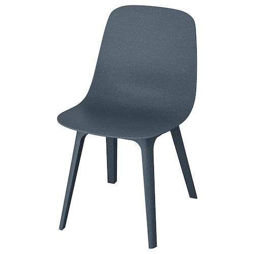 ODGER silla azul 110 kg 45 cm 51 cm 81 cm 45 cm 41 cm 43 cm