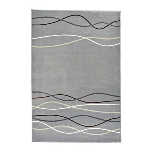 Lholm alfombra pelo corto ikea - Alfombra gris pelo corto ...