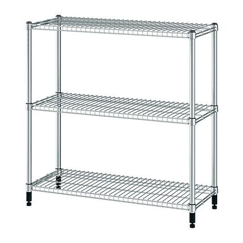 OMAR Estantería Galvanizado 92 x 36 x 94 cm - IKEA 0ead7ea0f6f1
