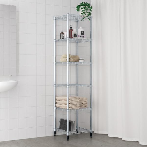 OMAR Sección de estantería, 46x36x181 cm