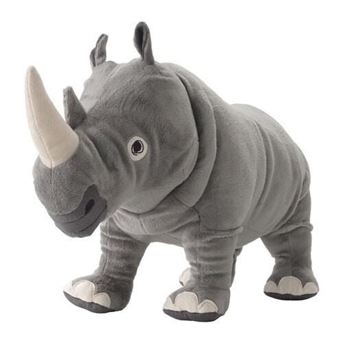 ÖNSKAD Peluche, rinoceronte - Últimas unidades en IKEA L'Hospitalet