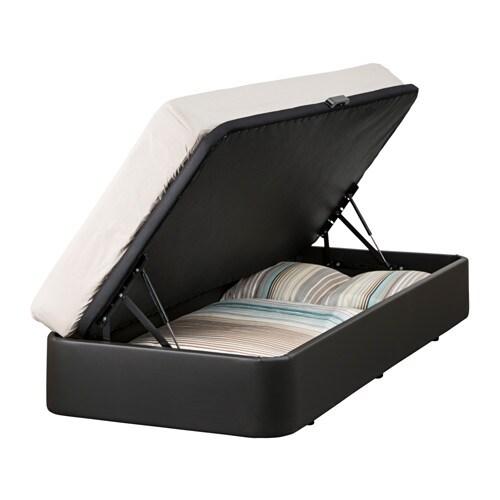 Rje estructura cama almacenaje 90x190 cm ikea for Camas con almacenaje