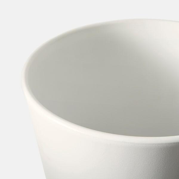 PAPAJA Macetero, blanco, 12x19 cm