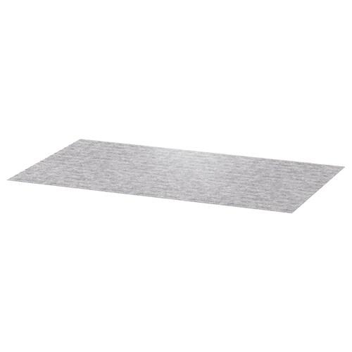 PASSARP alfombrilla para cajón gris 96 cm 50 cm 0.48 m²