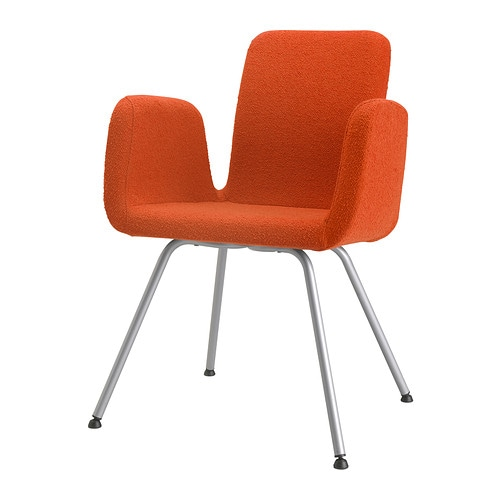 Patrik silla sala de juntas ullevi naranja ikea for Sillas para sala de juntas