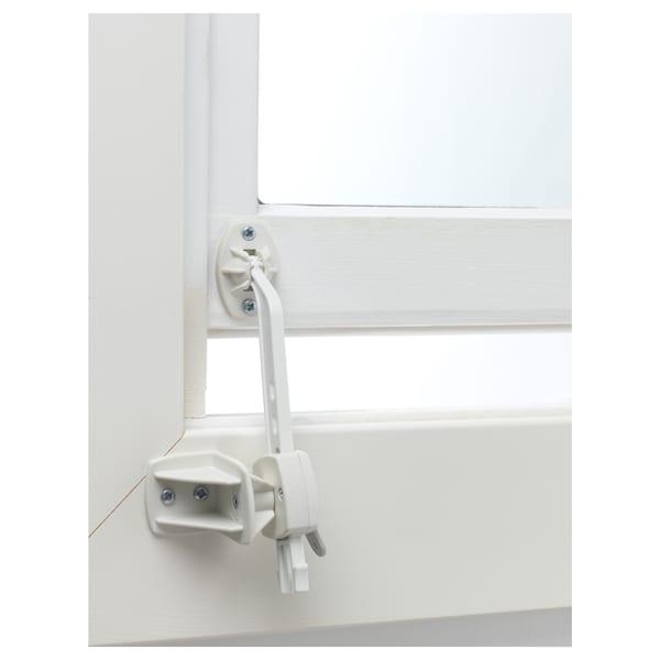 PATRULL Tope de seguridad para ventana, blanco