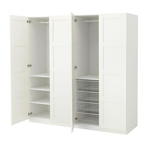 Pax armario blanco bergsbo blanco 200 x 60 x 201 cm ikea - Ikea armarios modulares ...